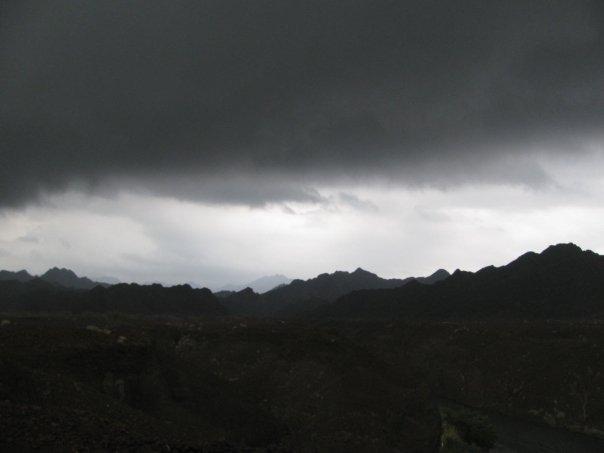 dark clouds, storm, rain, rain clouds, desert rain, thunderstorm,
