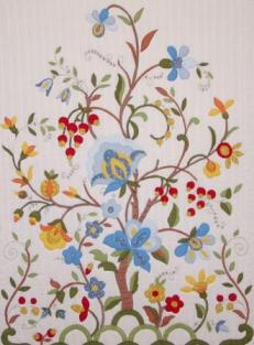 tree of life, quilt, flower quilt, hope