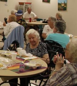 Friendswood Community Center, Seniors, senior ladies