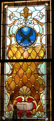stained-glass window, church window, stained-glass, colored glass, old church, heart song, hosanna