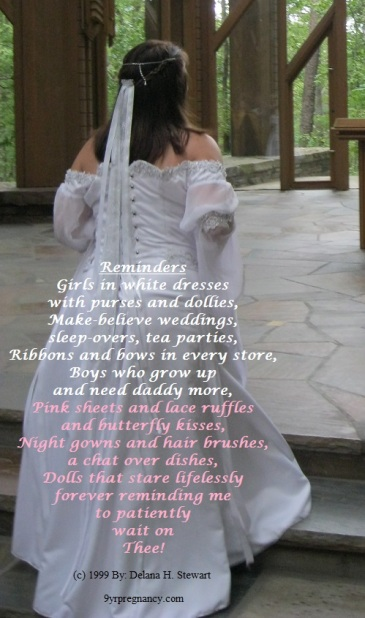reminders, white dresses, butterfly kisses, poem, adoption