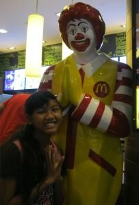 Ronald McDonald, Sawasdee, Thailand